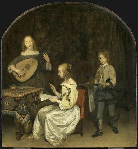 Le Concert: duo entre une chanteuse et une joueuse de luth théorbé