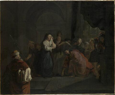 Le Christ prenant la défense de la femme adultère