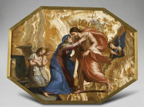 Jésus Christ reçoit la Vierge dans le ciel