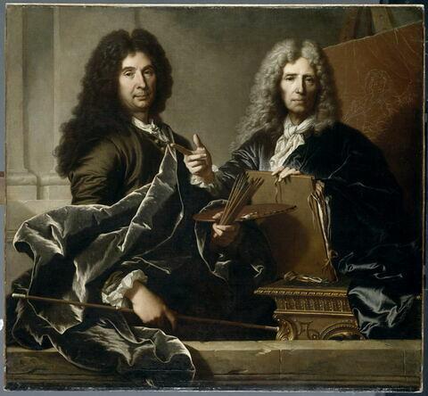 Charles le Brun et Pierre Mignard