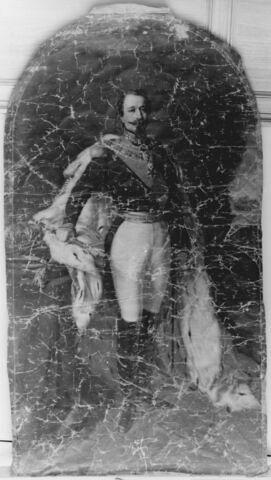 L'empereur Napoléon III (1808-1873) en pied.