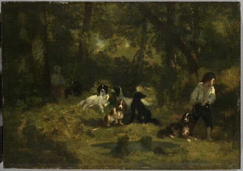 Le valet de chiens