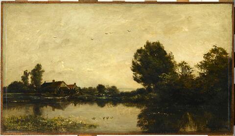 Le moulin de Gylieu (Isère).