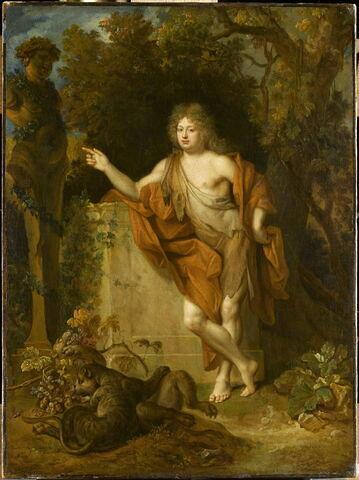 Portrait d'homme en Bacchus, dit autrefois à tort: Le Régent en dieu Pan