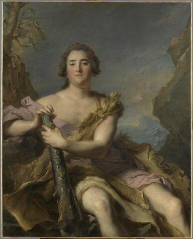 Le duc de Chaulnes, représenté en Hercule (1714-1769). Michel Ferdinand d'Albert d'Ailly (1714-1769), lieutenant-général gouverneur de Picardie