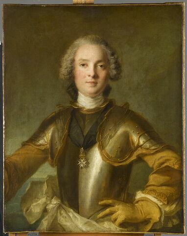 Portrait d'un commandeur de l'Ordre de Malte, peut-être Jean-Philippe, chevalier d'Orléans (1702-1748)