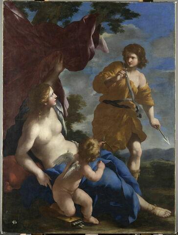 Vénus avec Adonis partant à la chasse