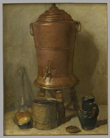 La Fontaine de cuivre.
