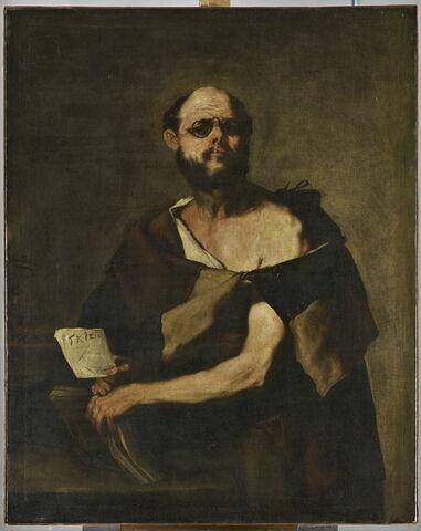 Philosophe aux lunettes
