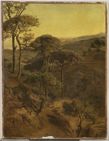 Vue prise de Broumâna (Mont Liban)