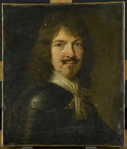 Portrait d'homme en cuirasse