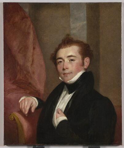 Portrait de George Brown, père du peintre français John Lewis- Brown (1829-1890)