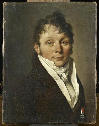 Antoine-Vincent Arnault (1766-1834), écrivain, secrétaire perpétuel de l'Académie française, cousin de la seconde femme de l'artiste