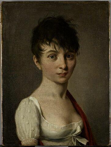 Madame Arnault de Gorse, née Mauduit, belle-soeur de l'écrivain Antoine Vincent Arnault.