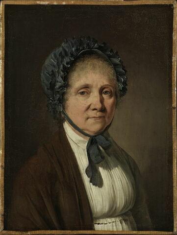 Madame Nicolas Vincent Arnault, née Marie-Jacqueline Le Duc, mère de l'écrivain Antoine Vincent Arnault et tante de la seconde femme de l'artiste.
