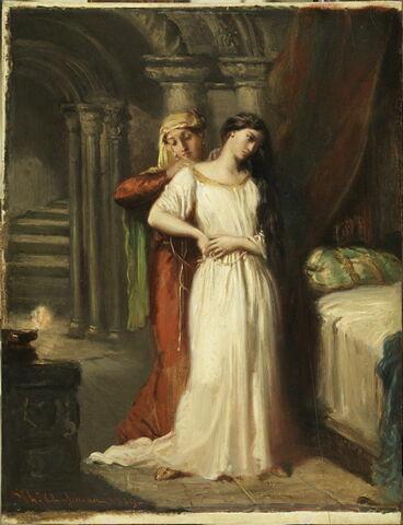 Le coucher de Desdémone. (Shakespeare, Othello, acte IV, scène 3).