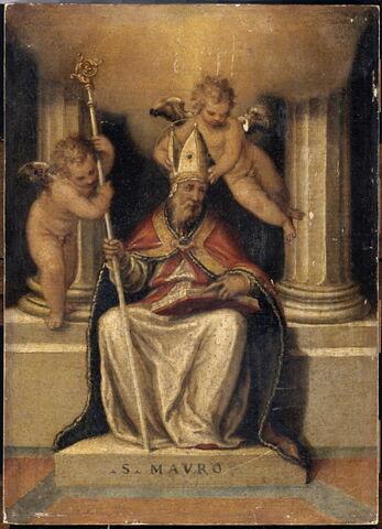 Saint Maur, abbé bénédictin