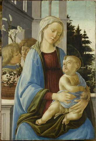 La Vierge et l'Enfant avec deux anges, dit La Vierge à la grenade