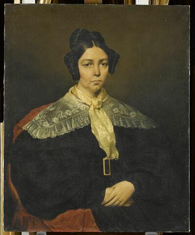 Marie-Madeleine Chassériau, née Couret de la Blaquière (1791-1866), mère de l'artiste.