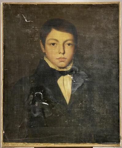 Ernest Chassériau, enfant (1823-1870), frère de l'artiste.
