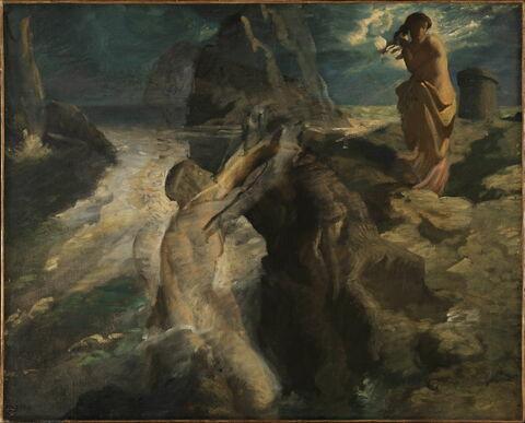 Hero et Léandre, dit aussi Le Poète et la Sirène.