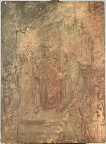 Mariage juif à Constantine.