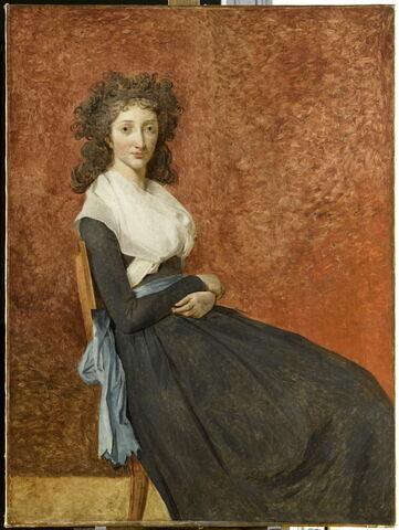 Madame Charles-Louis Trudaine, née Marie-Louis-Josèphe Micault de Courbeton (1769-1802); dit autrefois:Portrait de Madame Chalgrin.