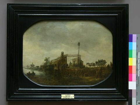 face, recto, avers, avant ; vue d'ensemble ; vue avec cadre © 2006 Musée du Louvre / Peintures