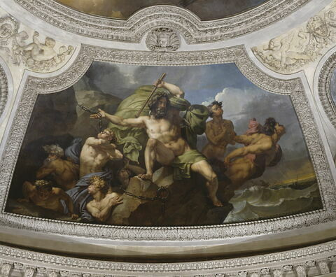 face, recto, avers, avant ; vue d'ensemble ; vue avec cadre © 1990 RMN-Grand Palais (musée du Louvre) / Daniel Arnaudet
