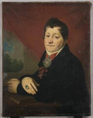 Portrait de Serguei Savvitch Iakovlev (1763-1818) industriel et conseiller d'état