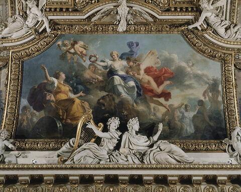 face, recto, avers, avant ; vue d'ensemble ; vue avec cadre © 2004 RMN-Grand Palais (musée du Louvre) / Gérard Blot