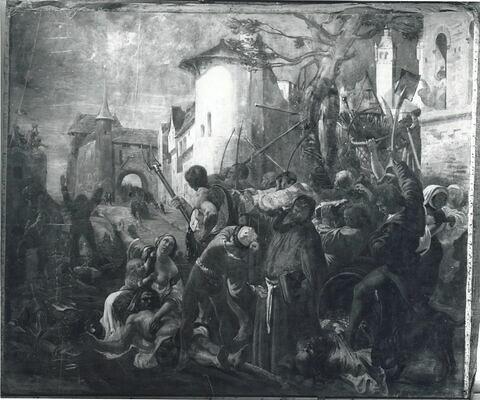 Épisode de l'affranchissement des communes sous Louis Le Gros.