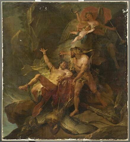 Hercule délivrant Prométhée