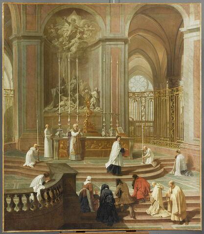 La messe du chanoine de La Porte