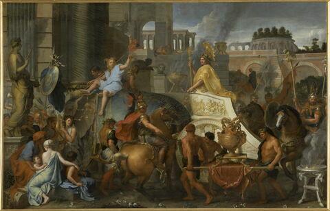 Entrée d'Alexandre dans Babylone