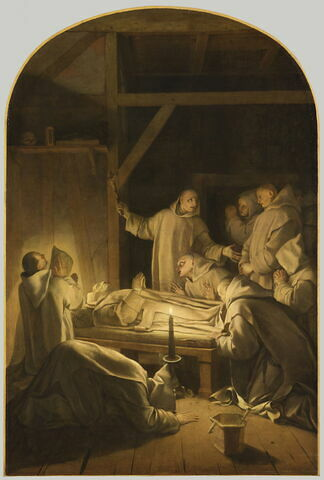 Mort de saint Bruno le 6 octobre 1101
