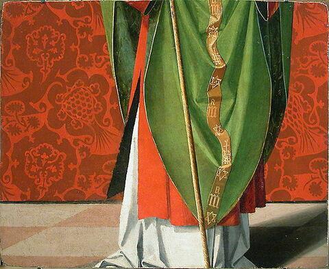 dos, verso, revers, arrière ; vue d'ensemble ; vue sans montage © 2004 Musée du Louvre / Peintures