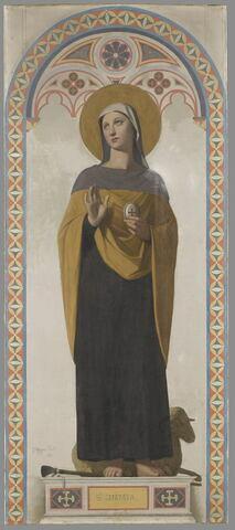 Sainte Geneviève, patronne de Paris
