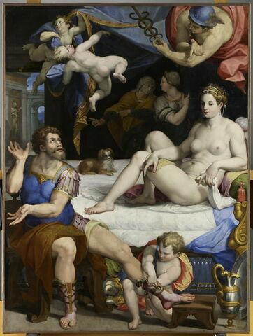 Mercure ordonne à Énée d'abandonner Didon