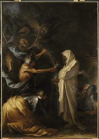 L'ombre de Samuel apparaissant à Saül chez la pythonisse d'Endor