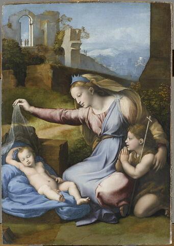 La Vierge au diadème bleu