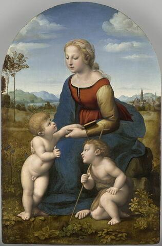 La Vierge à l'Enfant avec le petit saint Jean Baptiste
