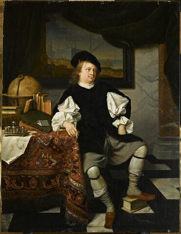 Savant (ou négociant ?) dans son cabinet