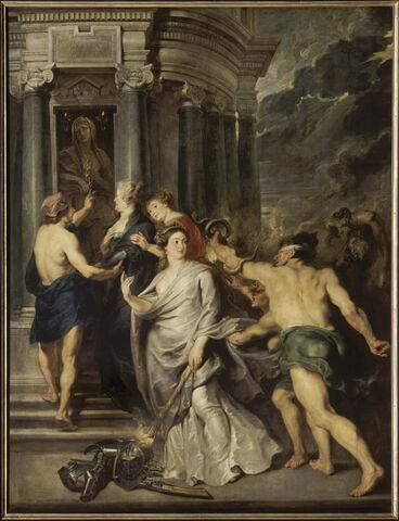 La Conclusion de la paix à Angers le 10 août 1620