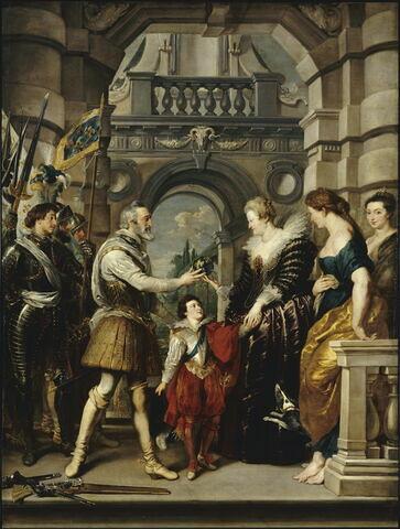 Préparatifs du roi pour la guerre d'Allemagne ou La Remise de la régence à la reine, le 20 mars 1610