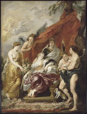 La Naissance du Dauphin (futur Louis XIII) à Fontainebleau, le 27 septembre 1601