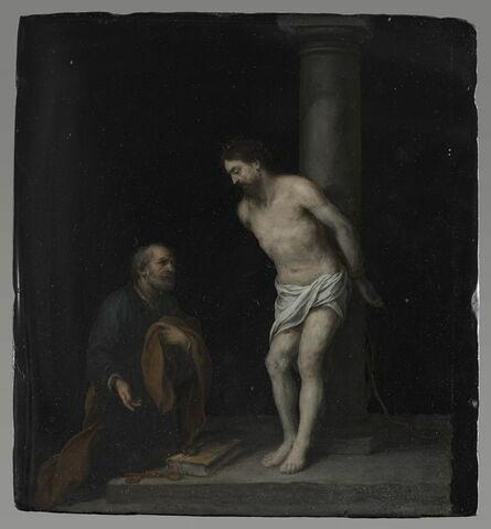 Le Christ à la colonne et saint Pierre
