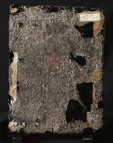dos, verso, revers, arrière ; vue d'ensemble ; vue sans cadre © 2000 RMN-Grand Palais (musée du Louvre) / René-Gabriel Ojéda