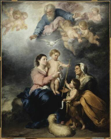 La Sainte Famille, dite aussi La Vierge de Séville