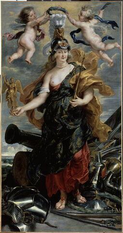 Portrait de Marie de Médicis (1573-1642) en reine triomphante